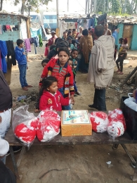 Celebrating Xmas & New year with poor children's_1